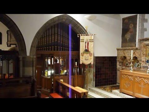 Jesus Christ - Once Again (Matt Redman cover) - pipe organ, Holy Trinity Church, St Austell