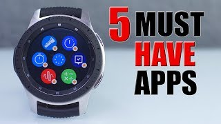 BEST UTILITY Apps for the New Samsung GALAXY WATCH |2019|