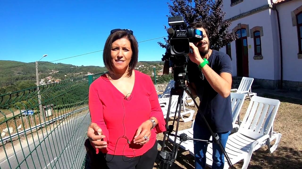 Entrevista RTP 1 - Linha da Frente - Bom Caminho