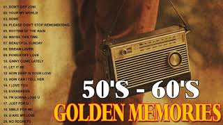 Golden Memories Of The 50's 60's Collection - Oldies Songs , Various Artists