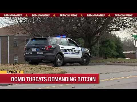 Bomb Threats Demanding Bitcoin