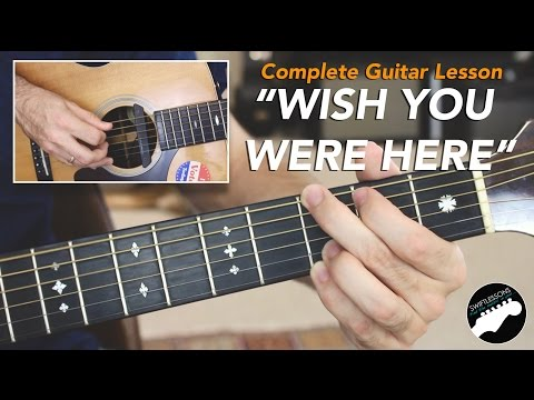 "Pink Floyd ""Wish You Were Here"" Complete Guitar Lesson"