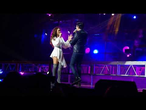 Maja Salvador and Paulo Avelino kilig duet at Maja On Stage Concert