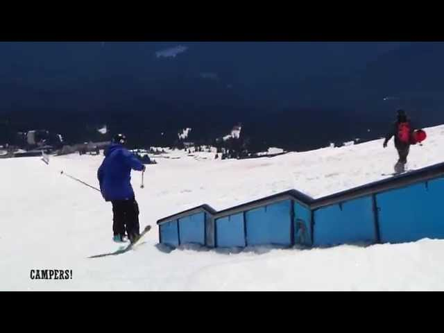 Session 1, 2013: Windells Summer Ski Camp