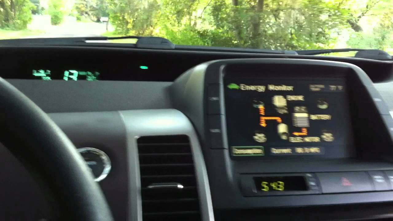 toyota prius 100mpg drive on full electric mode 2005 2006 2007 2008 2009 generation 2 prius youtube [ 1280 x 720 Pixel ]
