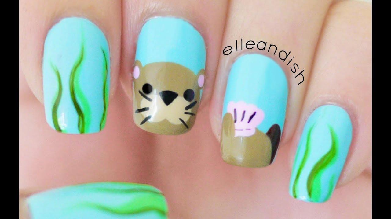 Sea Otter Nails - YouTube