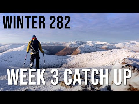Kevin Woods on the Winter Munros, Week 3
