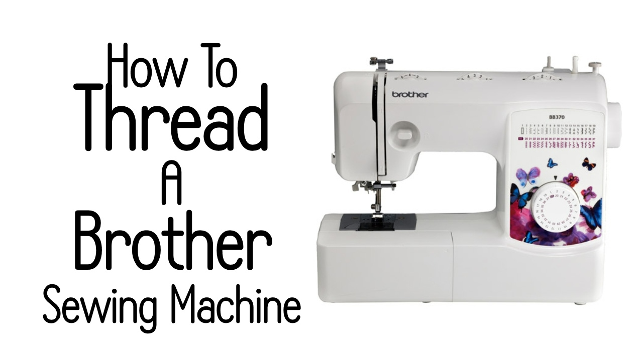 How to fill the thread in the sewing machine