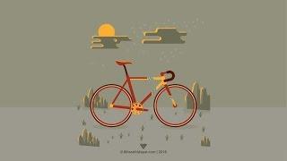 [Speed Art] Create Bicycle part.2 - Illustrator