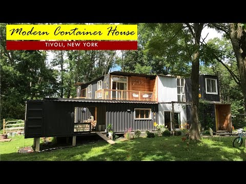 Modern 3 Bedroom Shipping Container House- Tivoli, New York