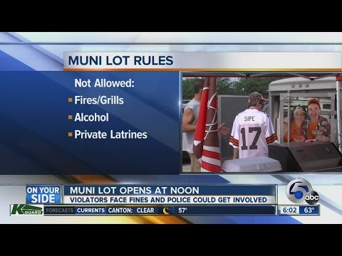 Cleveland Enacts Parking, Municipal Lot Instructions Ahead Of Thursday's Home Preseason Browns Game