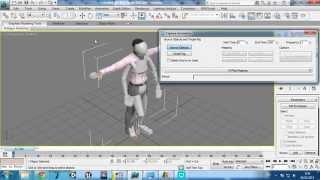 3D Max. Проблема с перенацеливанием анимаций (CAT Capture Animation problem)