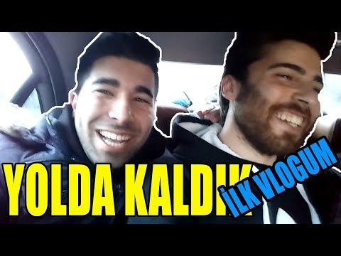 İLK VLOGUM YOLDA KALDIK- İZMİR DİKİLİ