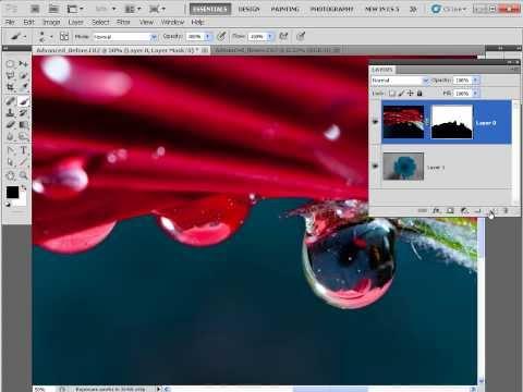 Jak stworzyć w Photoshopie efekt odbicia w kroplach rosy [tutorial]