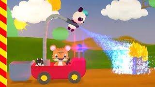 Пожарная машина мультфильм. Пожарная машина для детей. Мультик про пожарного сэма. Мультик про пожар