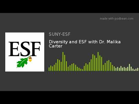 Suny Esf Campus Map.Diversity And Esf With Dr Malika Carter Youtube