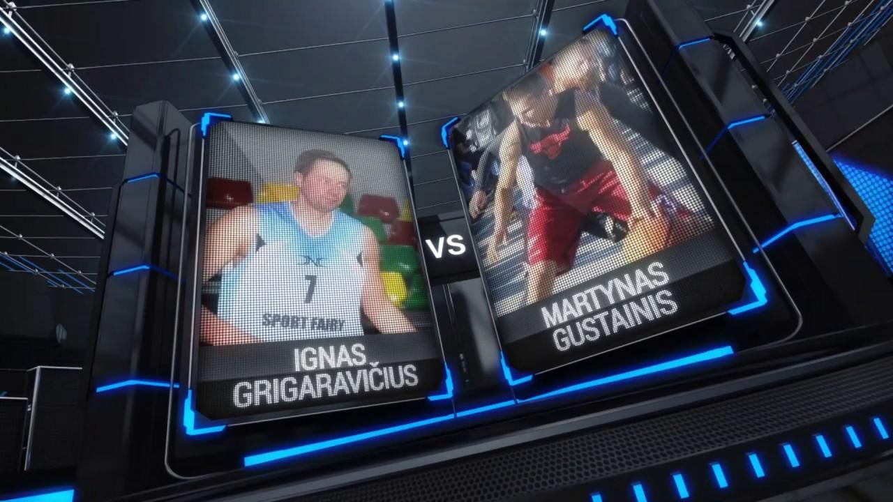 TOPsport Ghetto King 1x1: Ignas Grigaravičius vs Martynas Gustainis