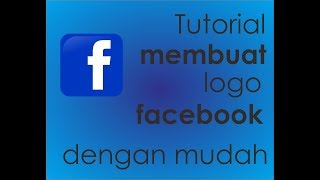 tutorial membuat logo facebook (corelDRAW)