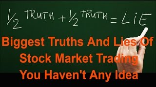 Day Trading Why You Lose Money In Stock Market The Conspiracy Who Makes Money And How The Secret
