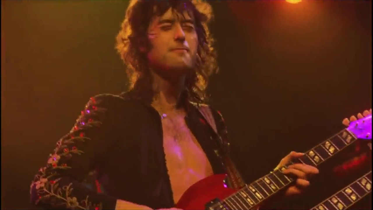 Led Zeppelin - The Song Remains The Same Live (HD)