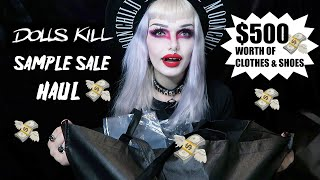 $500 Goth Dollskill Sample Sal…