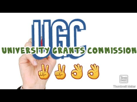 UGC(University Grants commission)   👌👌✌️