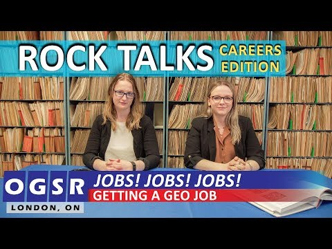 How To Land Your First Job In Geology - Rock Talks