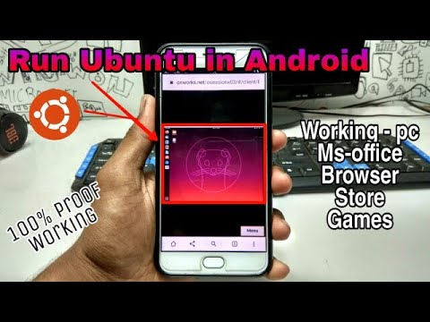 Run Ubuntu In Android Browser | Ubuntu In Android Phone | Tech With King
