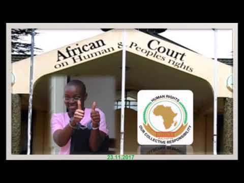 ACHPR   Victoire Ingabire vs Rwandan govt