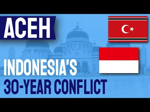 How was the ACEH conflict in INDONESIA resolved?