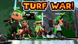 Splatoon 2 Turf War With Youtube Sponsors & Twitch Subscribers!
