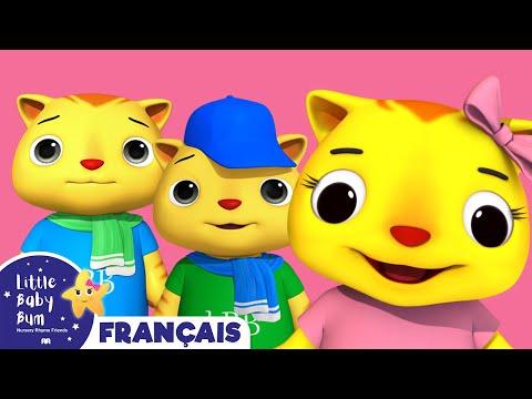 Trois Petits Chatons | Comptines | LittleBabyBum!