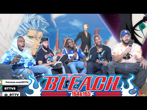 Ichigo vs Grimmjow Final Pt.1 Bleach Ep 164 & 165 REACTION/REVIEW