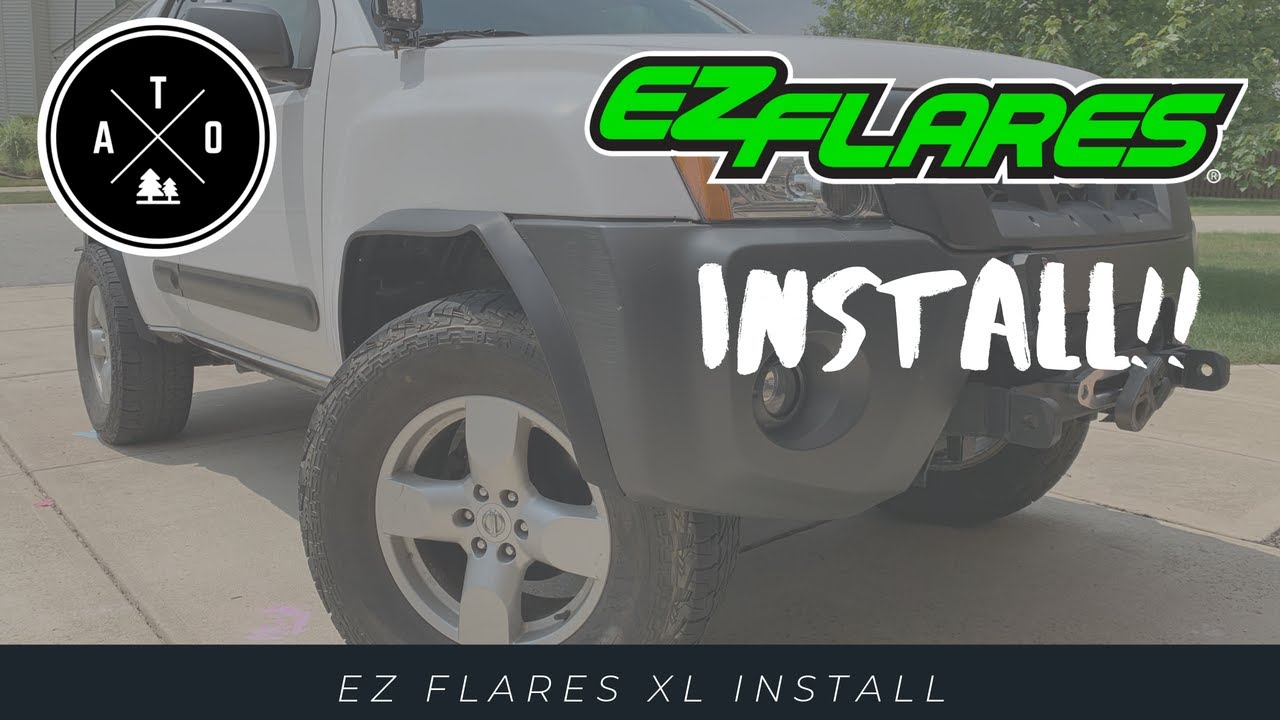 EZ Flares XL Install on 05 Nissan Xterra (vehicle modification, product review, tips, and more!)