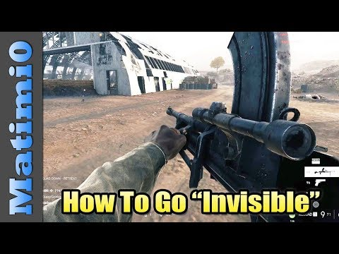 "How To Go ""Invisible"" - Battlefield 5 thumbnail"