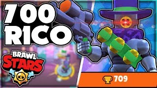 Rico Push To 700 Trophies! - How To Dominate with Ricochet! + Tips! - Brawl Stars Gameplay!