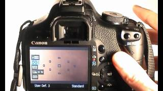 Canon EOS 500D Tutorial Video 24 Part 1 - Video Mode - Menus(In this video I look at the the menus for the Video mode onthe Canon EOS 500D T1i KissX3 in preperation for upcoming videos on how to use it. Subscribe - For ..., 2011-09-28T00:35:33.000Z)