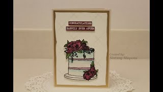 Wedding Card ~ Concord & 9th Oh Happy Day