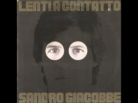 -  SANDRO GIACOBBE - LENTI A CONTATTO – ( - CGD 20067 – 1978 - ) – FULL ALBUM