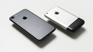 iPhone 7 vs Original iPhone! (The First iPhone/iPhone 2G)