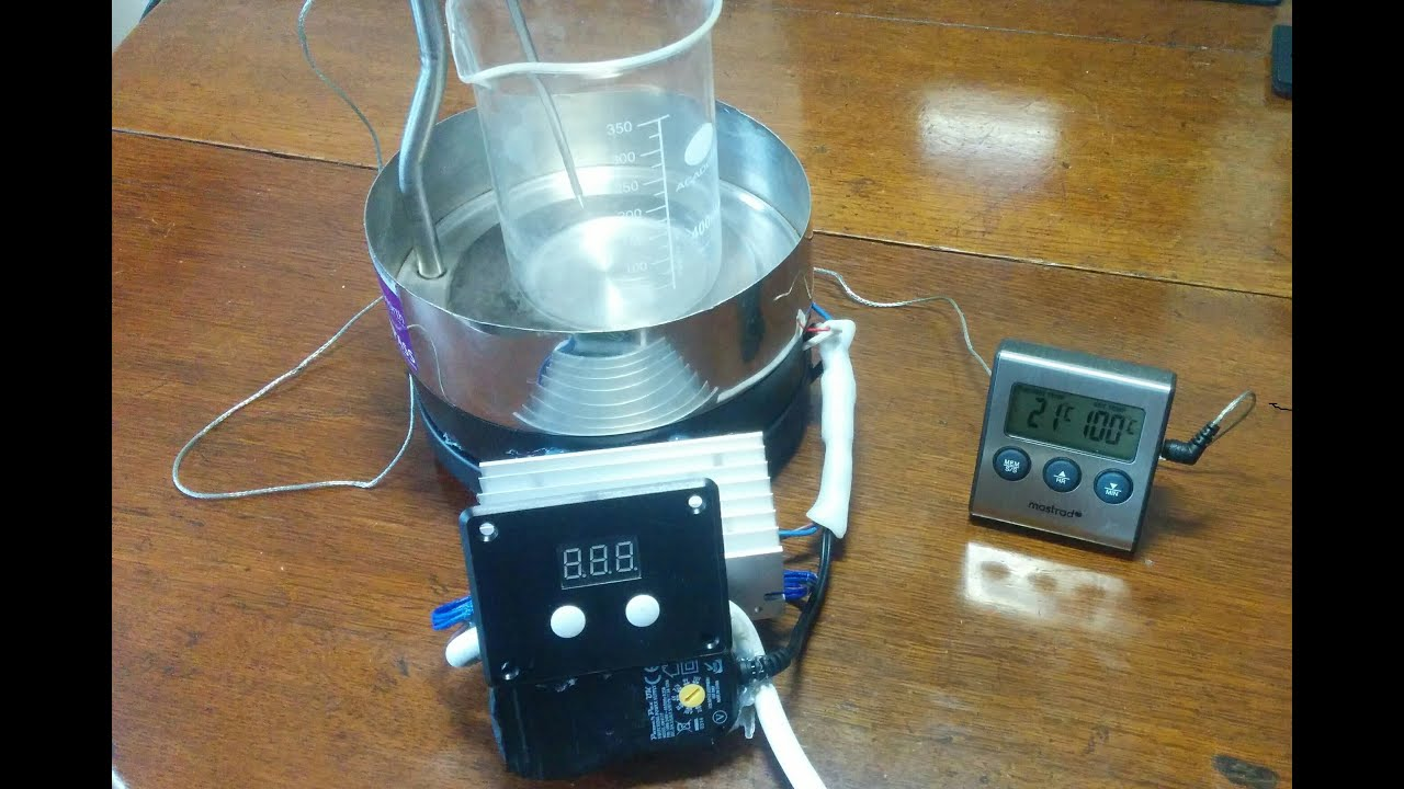 HOW TO MAKE A Magnetic Stirrer Hotplate  YouTube