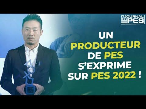 PES 2022 : Kimura, producteur exécutif de PES 2022 s'exprime !
