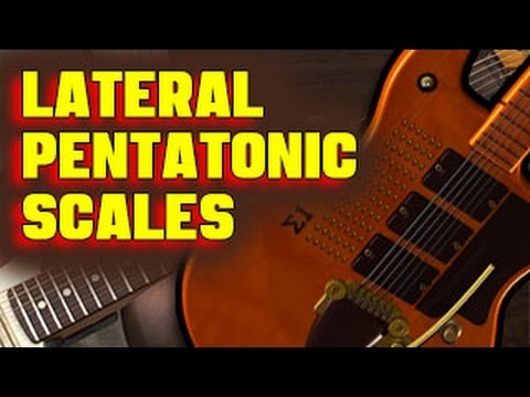 🎸  IMPROVISATION: Soloing with Lateral Pentatonic Scales
