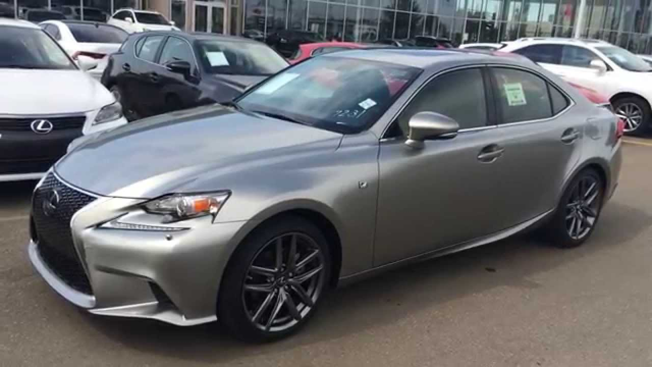 2015 Lexus IS 250 AWD F Sport Review - YouTube