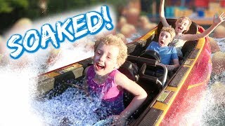 This Water Ride Will Get You Seriously SOAKED!