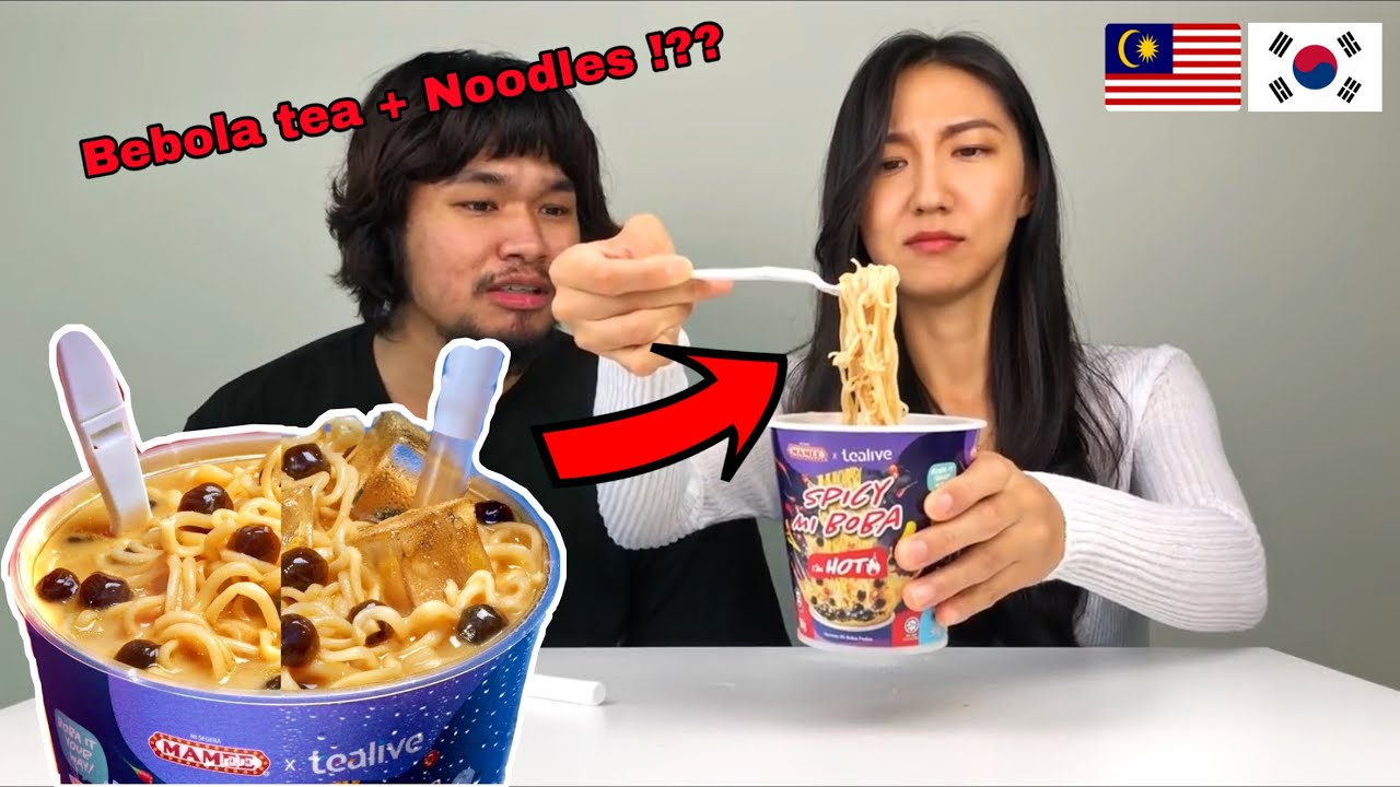 Asking Korean Girl Try The WORST Malaysian Noodle!ㅣ말레이시아 먹방 챌린지