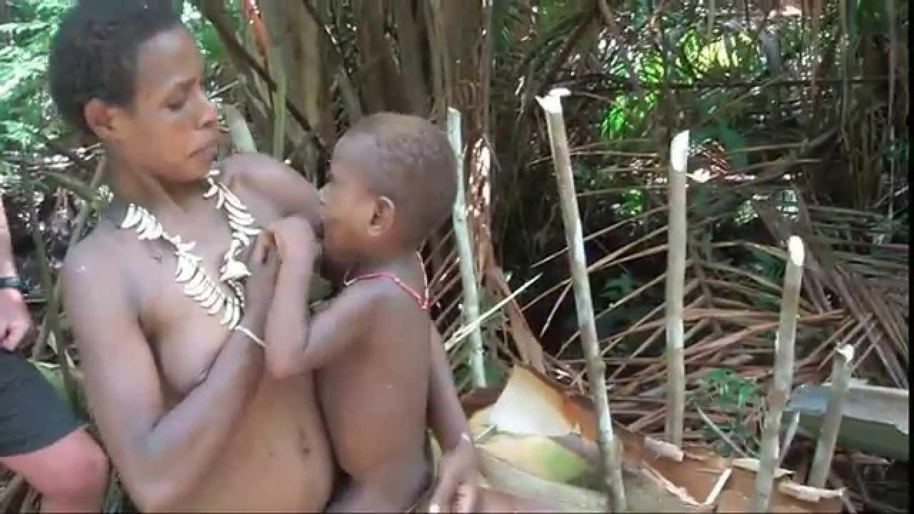 груповуха папуасов видео