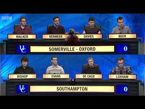 University Challenge S43E31  Somerville, Oxford vs Southampton