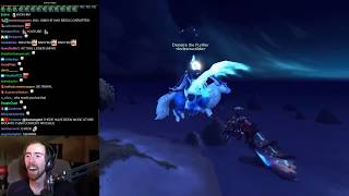 Asmongold Reacts to the New Vulpine Familiar Store Mount