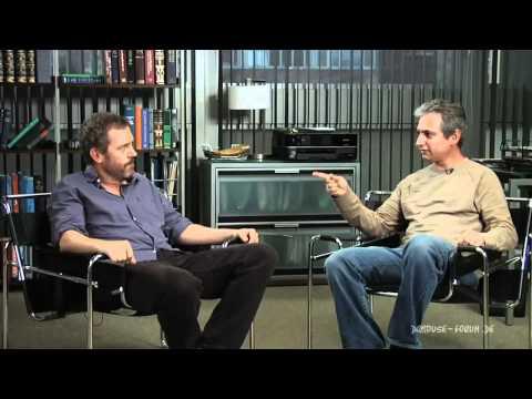 House - Season 7 - 7x23 - 'Moving On' Fans Ask: Hugh Laurie & David Shore [HD]